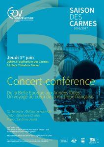 Affiche concert conférence 1er juin 2017 réduit