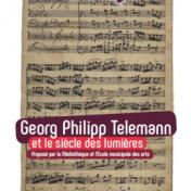 Conférence sur Telemann à l'école des arts d'Orly le 18 novembre 2017
