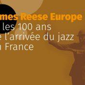 Conférence sur James Reese Europe et les 100 ans du jazz en France au conservatoire de Pontivy le 10 février 2018