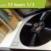 33 tours, le retour du vinyle, salon d'écoute à la médiathèque de Lorient