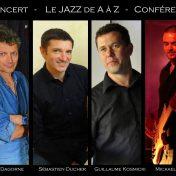 Le Jazz de A à Z à la Grange de Kerivin le 22 juillet 2018 à 18h