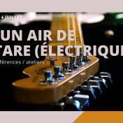 Conférence vidéo en ligne sur l'histoire de la guitare électrique